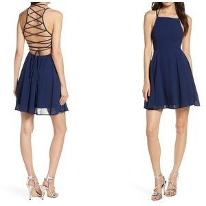 Lulu's   NWT Good Deeds Sexy Strappy Mini Dress